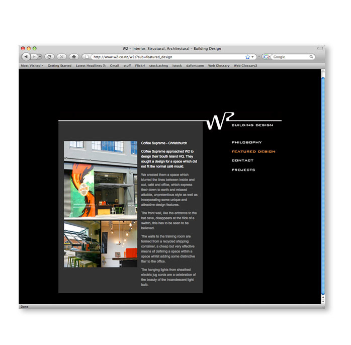 Hyve design w2 building design website for Building design website